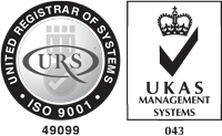 ISO 9001 and UKAS management accrediations